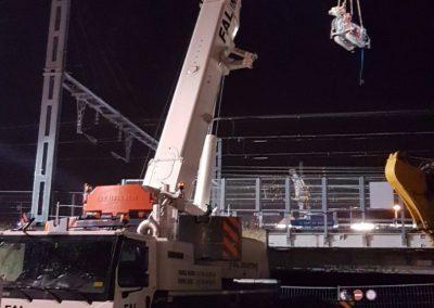 1. Grutage de Nuit - Voies SNCF